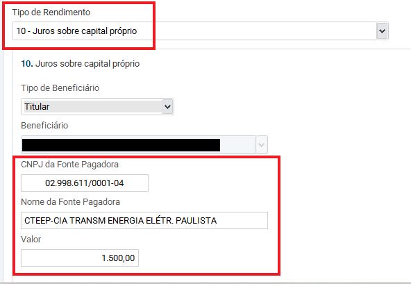 JCP no Imposto de Renda